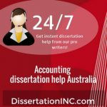 Accounting dissertation help Australia
