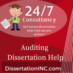 Auditing Dissertation Help