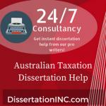 Australian Taxation Dissertation Help