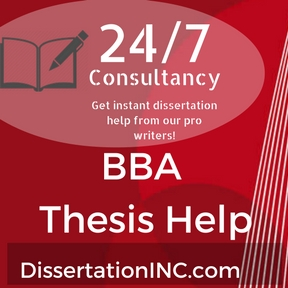 BBA Thesis Help