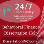 Behavioral Finance Dissertation Help