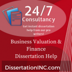 Business Valuation & Finance Dissertation Help