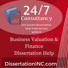Masters thesis business valuation
