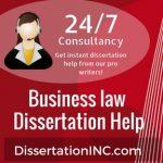 Business law Dissertation Help