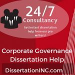 Corporate Governance Dissertation Help