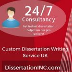 Custom Dissertation Writing Service UK