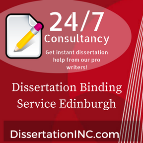 Dissertation Binding Service Edinburgh