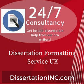 Dissertation Formatting Service UK