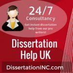 Dissertation help UK