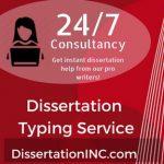 Dissertation Typing Service