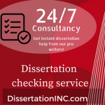 Dissertation checking service