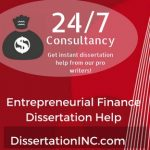 Entrepreneurial Finance Dissertation Help