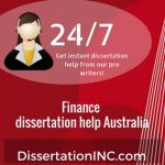 Finance dissertation help Australia