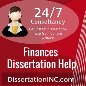 Finances Dissertation Help