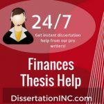 Finances Thesis Help