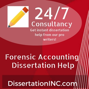 Forensic Accounting Dissertation Help