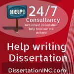 Help writing Dissertation