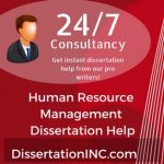 Human Resource Management Dissertation Help