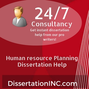 Dissertation on human resource planning