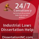 Industrial Laws Dissertation Help