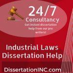 Industrial Laws Dissertation Help