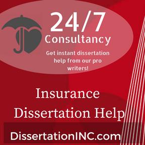 Insurance Dissertation Help
