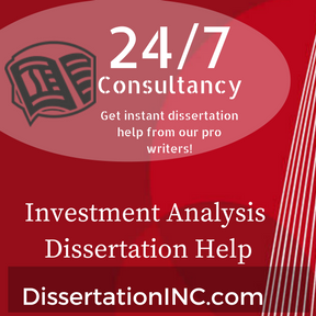 Investment Analysis Dissertation Help