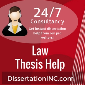 Thesis in law