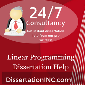 Linear Programming Dissertation Help