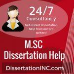 M.SC DISSERTATION Help