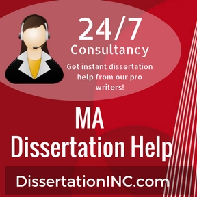 MA Dissertation Help