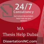 MA Thesis Help Dubai
