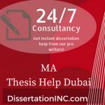Thesis help in dubai