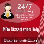 MBA Dissertation Help