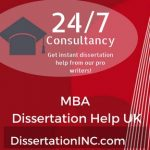 MBA Dissertation Help UK
