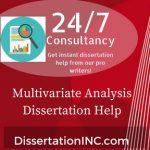 Multivariate Analysis Dissertation Help