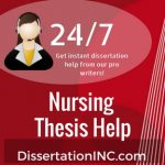 Nursing Thesis Help