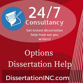 Options Dissertation Help