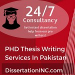 PHD Thesis Writing Services In Pakistan
