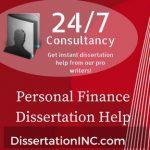 Personal Finance Dissertation Help