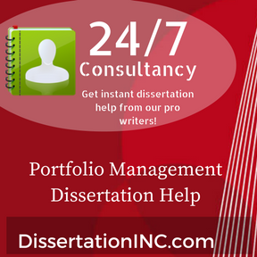 Portfolio Management Dissertation Help