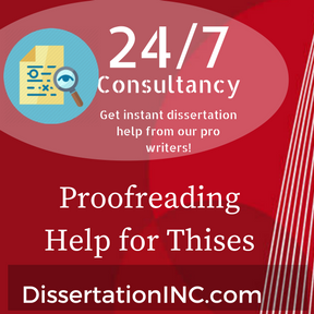 Dissertation help service proofreading