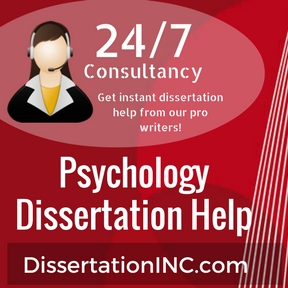 Dissertation psychology help