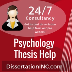 Psychology phd thesis collection