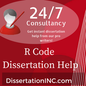 R Code Dissertation Help