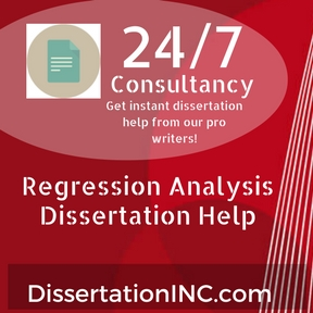 Regression Analysis Dissertation Help