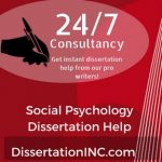 Social Psychology Dissertation Help