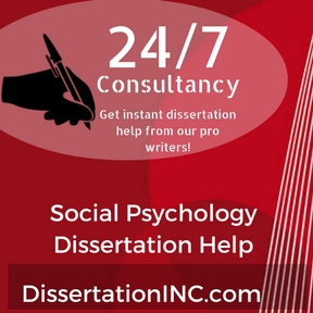 Dissertation on social psychology