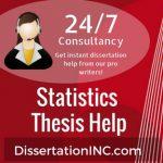 Statistics Thesis Help