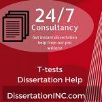 T-tests Dissertation Help